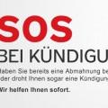 SOS Plan bei Kündigung