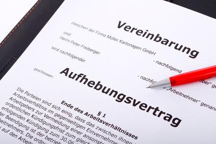 Rücktritt vom Aufhebungsvertrag möglich