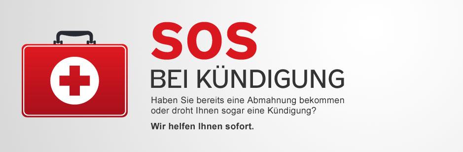 SOS bei Kündigung