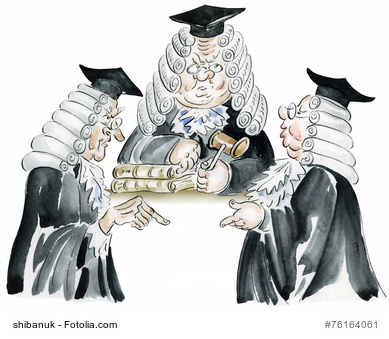 Juristenwitze :: Die 10 Besten :: Nr. 3 :: Zwei Bundesrichter