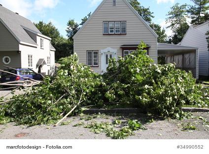 Kündigung nach Sturmschaden
