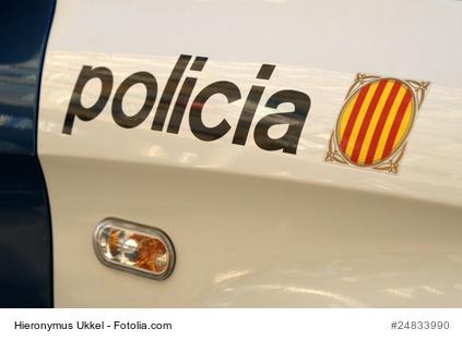 Unfall in Spanien