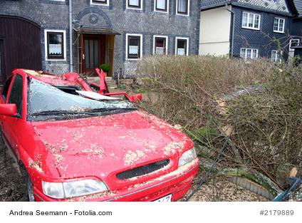 Haftung bei Sturmschaden