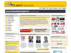 Scheinselbstaendigkeit.de wieder online