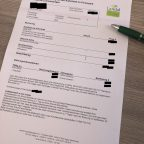 Buchungsbestätigung von Landal GreenParks